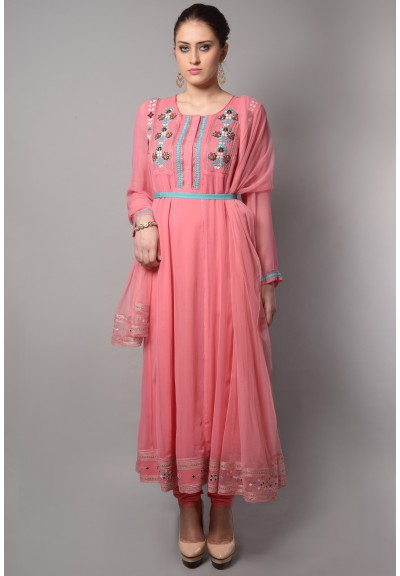 PANELED BODICE ANARKALI