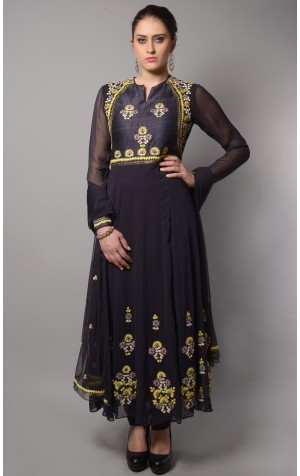 SHOULDER YOKE ANARKALI