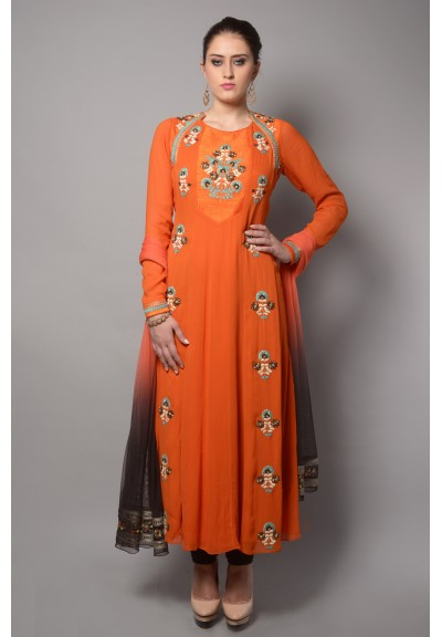 BACK TIE UP ANARKALI