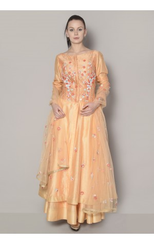 ELONGATED TOP ANARKALI