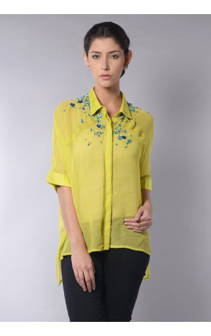 NECK PLACEMENT BLOUSE