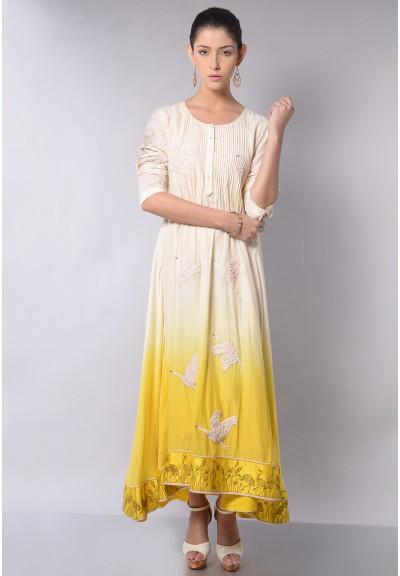 OMBRE SWAN DRESS