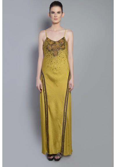 CUTWORK STRAP DRESS