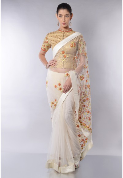 BIG  BOOTA SAREE