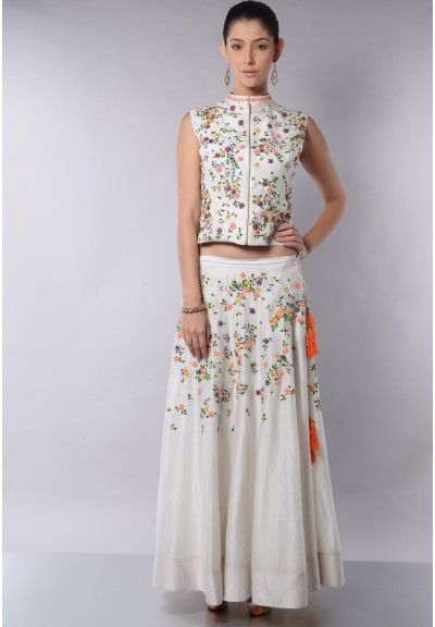FLORAL SIDE PANEL TOP  SET