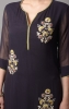 ALLOVER BOOTA  KURTA SET WITH FLARED PLAZO