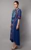 SIDE PANELED SHIRT DRESS