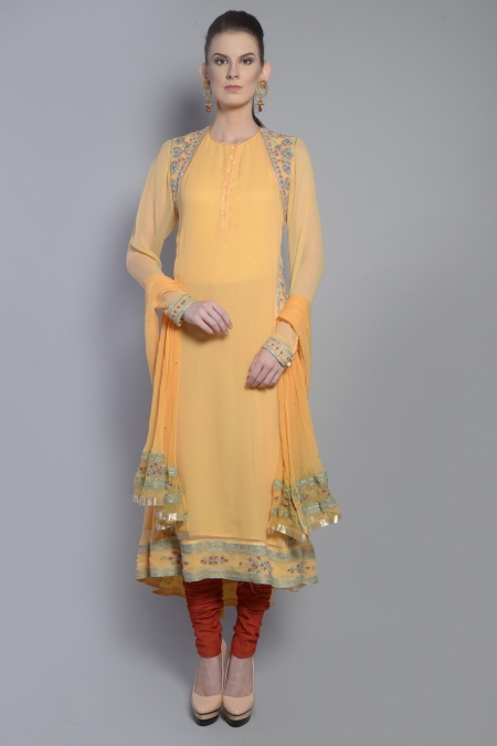 TRADITIONAL CHOLI INSPIRED ANARKALI